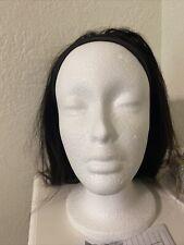 14 inch Headband Human Hair Glueless Wigs Straight no lace