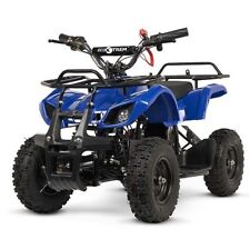Quad electrico niños 800w 36v junior moto Off Road 4 ruedas todoterreno azul