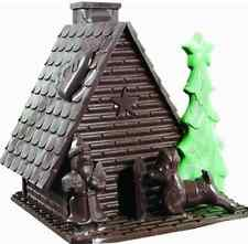 Christmas baking mold gingerbread house set celebrate chocolate DIY Free Shippin