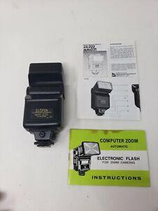 Sunpak Auto 222 Thyristor Flash Unit.
