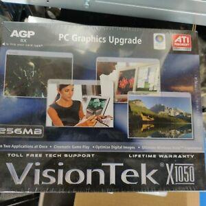 VisionTek ATI Radeon X1050 AGP 256M DDR RC VGA Video Graphics Card