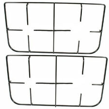 HOTPOINT KD3G2SL(W)/I Genuine Oven Hob Burner Cap Rack Pan Support Stand x 2