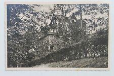 30058 Foto AK Radebeul Weinschank Cafe FLORA Lößnitzgrund am Elt-Werk um 1935