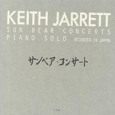 Keith Jarrett : Sun Bear Concerts: PIANO SOLO;RECORDED IN JAPAN CD 6 discs