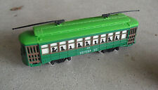 Vintage 1980s HO Scale Desire St 463 Trolley Car