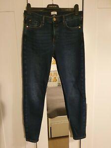 River Island Dark Blue Amelie Jeans Size 14R