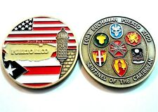 FORT BUCHANAN Joint ARMY RESERVE & NATIONAL GUARD Puerto Rico Challenge Coin