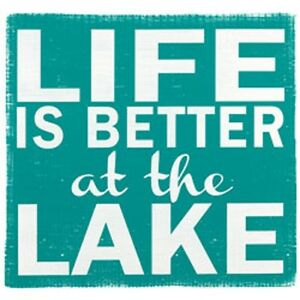 Life Is Better at The Lake   Hooded Sweatshirt  Sizes/Colors