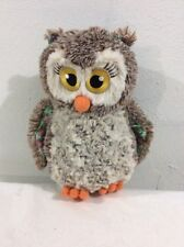 """Girl Scout Cookies 100 Years & Counting Plush Owl 10"""" Little Brownie 2016-2017"""