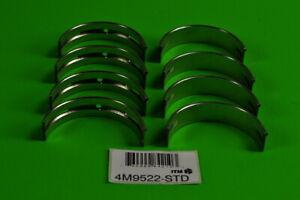 Engine Crankshaft Main Bearing Set ITM 4M9522-STD