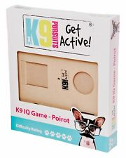Pet Dog IQ Game Interactive Treat, Fun Toy Boredom Buster Challenging, Poirot K9