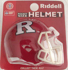 RUTGERS SCARLET KNIGHTS NCAA Riddell SPEED POCKET PRO Mini Football Helmet