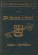 FLUME-GROSSUHR-SCHLIISSEL BAND 4 BY WECKER AND GROBUHREN-BOOK