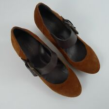 Kenneth Cole Reaction Brown Women's Med Heel Shoes Size 6.5 M