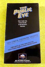 The Public Eye ~ New VHS Movie Screener Promo Demo Tape ~ 1992 Joe Pesci Video