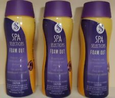 Spa Selections Foam Out for Spa/Hot Tub, Spa Foam Remover, 16 Fl. Oz. Lot of 3