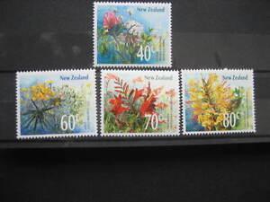 NEW ZEALAND 1989 WILD FLOWERS SET NHM SG1497/1500