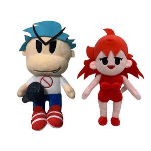 Friday Night Funkin Plush Toy Boyfriend And Girlfriend Plush Soft Stuffed Dolls