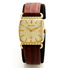 Vintage Bulova Wrist Watch with Textured Dial CA19500s
