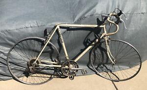 """1985 Chicago SCHWINN Le Tour 10 speed 23"""" Bike all Original Frost White Parts"""
