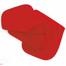 Sciarpe da uomo rossi tinta unita