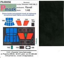 Model Maker 1/48 WESTLAND WESSEX HAS Mk.3 Helicopter Paint Mask Set