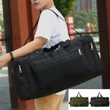 Mens Large Travel Bag Sport Gym Yoga Duffle Handbag Shoulder Bag Weekend Tote