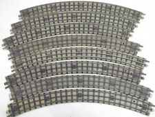 8 x Hornby Dublo 3 rail 1st radius curves in used condition