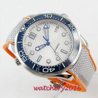 New 41mm BLIGER sterile Dial Date Leuchtzeiger Saphirglas Automatisch mens Watch