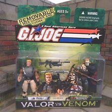 GI JOE~ 2004 DUKE & VENOMOUS MAXIMUS ~ MISB MOC VALOR vs VENOM