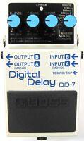 Used Boss DD-7 Digital Delay Guitar Effects Pedal!