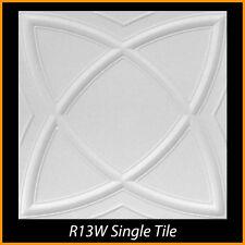 Ceiling Tiles Glue Up Styrofoam 20x20 R13 White lot of 100 pcs 270 sq ft