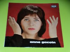 33 TOURS 25 CM - ANNE GACOIN - GONTRAN - A.GORAGUER - GAINSBOURG - 1962