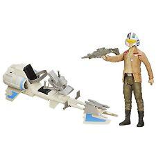 Disney Star Wars The Force Awakens 12-inch Speeder Bike & Poe Dameron by Hasbro