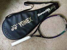 "YONEX® Grip4 1/2"" SuperRQ-500Long HeadSize:105 Sq.In Used Graphite Racket w/Case"