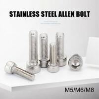 M5 M6 M8 Stainless Steel Allen Screws Socket Cap Screws Hexagon Head DIN 912