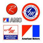 AMC Logo Stickers American Motors Rambler AMX Javelin Hornet Gremlin Emblem  for sale