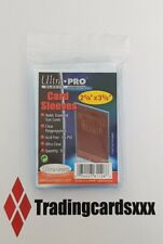 ♦Pokémon♦ 100 Protèges Cartes/Pochettes/Sleeves Soft Card Ultra PRO Transparent