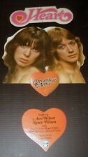 VERY RARE HEART DREAMBOAT ANNIE 1975 VINTAGE MUSIC RECORD STORE PROMO DISPLAY