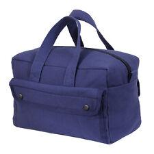 Navy Blue Heavyweight Military Mechanics Standard Tool Bag Free Shipping