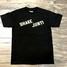 "SHAKE JUNT MEN'S T-SHIRT ""NEW"" BRAND NEW SZ. MEDIUM W/DEFECT"