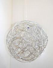 Impressionen Lampe Deckenleuchte Ball geflochten Metall Aluminium