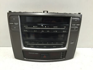 2006-2012 LEXUS IS220 IS250 IS HEATER CLIMATE CONTROL PANEL 758950