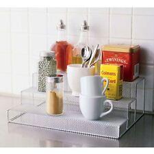 Design Ideas Argento Mesh Portaspezie Stepper mensola piano cucina Space Saver