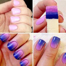 8PCS/Set Magic Nail Art Sponge Stamp Stamping Polish Transfer DIY Manicure Tools