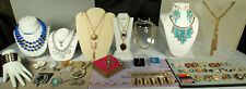 Sterling/Costume Jewelry LOT 85pc DANECRAFT NYE GIVENCHY CORO SWAROVSKI COV LIA