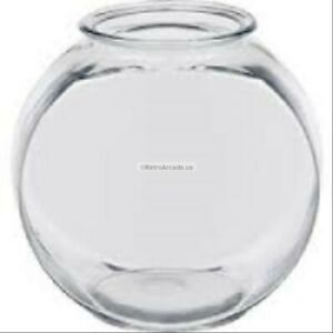 Plastic Drum Fish Bowl 1 Qt, used also for business card collection bowl