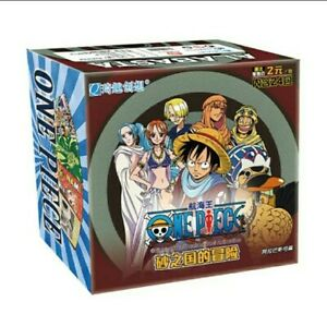 2 PACKS NEW 2021 ONE PIECE LUFFY ANIME COLLECTABLE TRADING CARDS