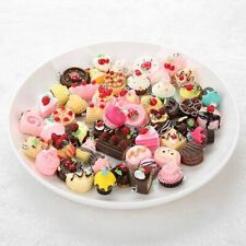 50 Pieces Food Pendant Necklace Charms For Diy Earring Woman Jewelry Accessories