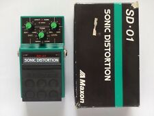 Maxon SD-01 Sonic Distortion Guitar Effect Pedal Ibanez